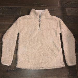 Soft Sherpa sweatshirt. Creamy white, very soft